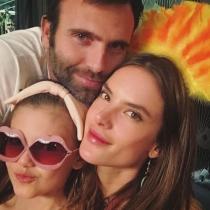La familia feliz de Alessandra Ambrosio