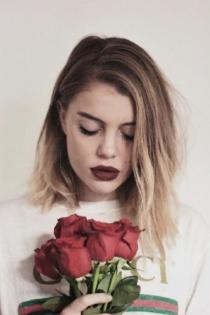Romántica: la foto más linda de Gigi Vives
