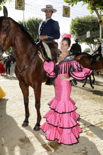 Feria de Abril 2017: Lourdes Montes