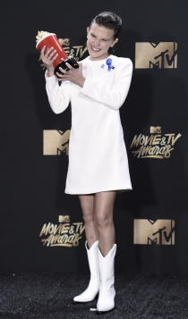 MTV Movie Awards 2017: Millie Bobby Brown