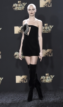 MTV Movie Awards 2017: Cara Delevingne