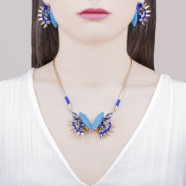 Collar Blue Ocean de Tess