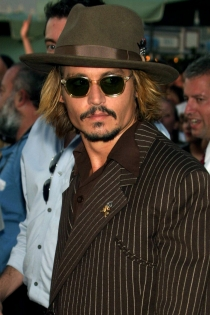Johnny Depp, estilo country