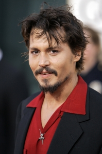 Johnny Depp, barba icónica
