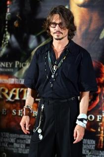 Johnny Depp, el pirata más sexy de todos los tiempos