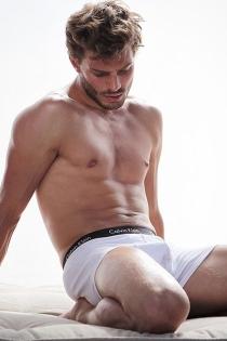 Jamie Dornan, muy sexy