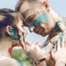Fotos con miradas de amor