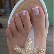 Viste tus uñas y tus pies
