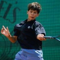 Rafa Nadal, un niño apasionado del tenis