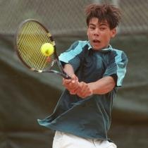 Rafa Nadal, vocación por el tenis