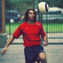Rafa Nadal, muy deportista