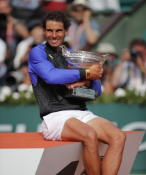 Rafa Nadal, campeón de su décimo Roland Garros