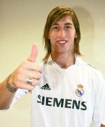 Sergio Ramos, tras fichar con el Real Madrid