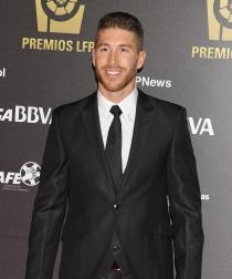 Sergio Ramos con barba