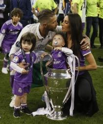 Sergio Ramos, papá cañon