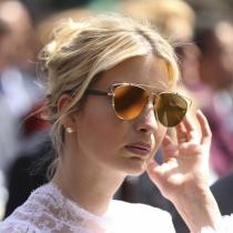 Ivanka Trump, peinado informal