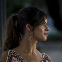 Coleta con flequillo como Sara Carbonero