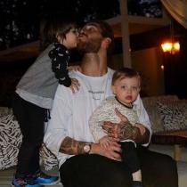 Sergio Ramos, papá futbolista