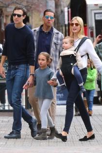 Ivanka Trump, día en familia