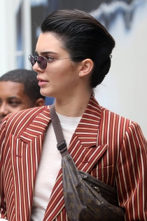 Kendall Jenner, ¡boy look!