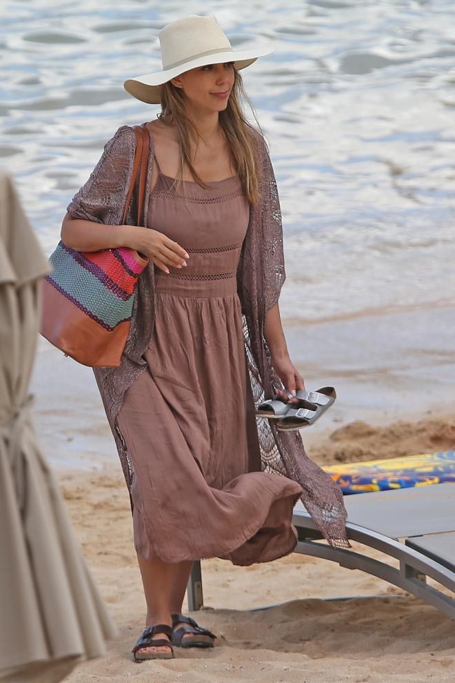 Jessica Alba, ¿qué me pongo para ir a la playa?