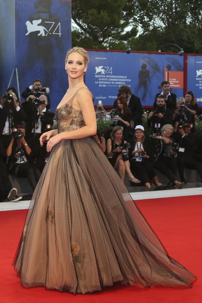 Jennifer Lawrence, espectacular en el Festival de Venecia 2017