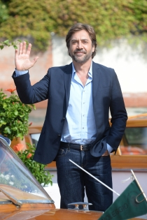 Javier Bardem ha llegado al Festival de Venecia por todo lo alto