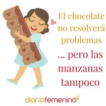 Frase del día para los amantes del chocolate