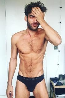 Jon Kortajarena, el más sexy en ropa interior