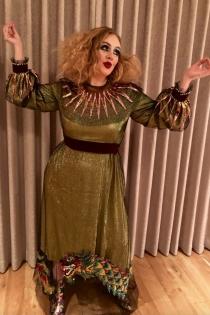 Adele y su disfraz para Halloween