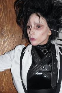 Lady Gaga y su disfraz más tenebroso en Halloween