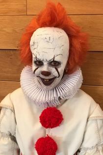 Cristina Pedroche, el payaso más terrorífico en Halloween