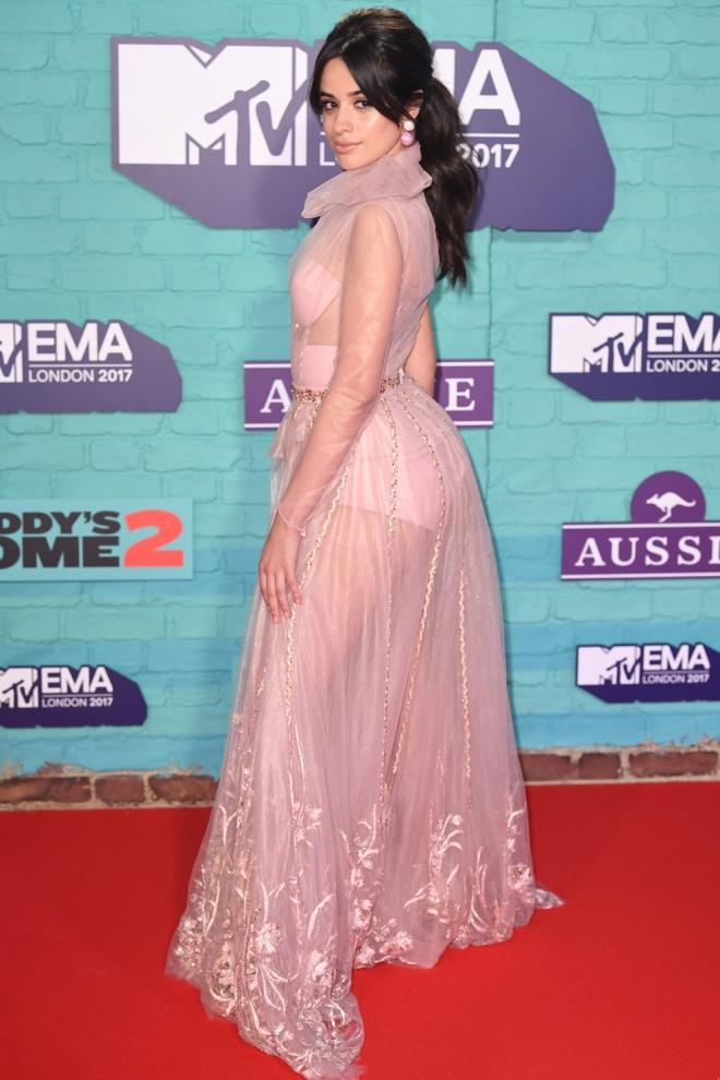 Camila Cabello, amante de las transparencias - Vestidos de fiesta de ...