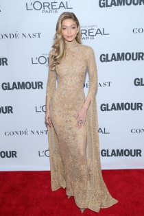 Gigi Hadid, todo glamour