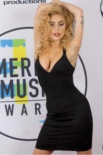 Famosas en los AMAs 2016: Lady Gaga