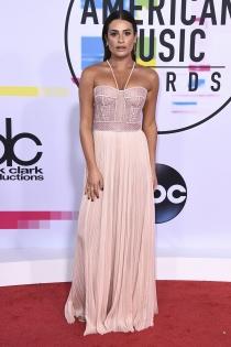 Famosas en los AMAs 2017: Lea Michele