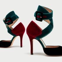 ZARA: Zapato con talón atado