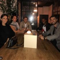 Georgina Rodríguez y Cristiano Ronaldo, ¡amor con amigos!