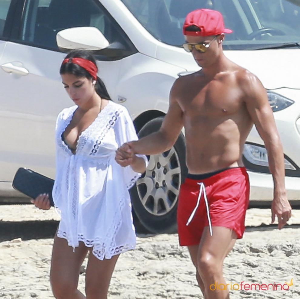 Georgina Rodríguez y Cristiano Ronaldo, su verano más in love