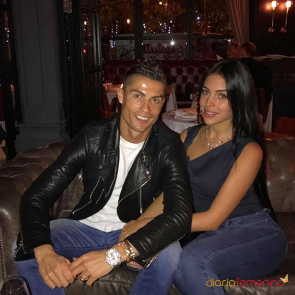 Georgina rodríguez y Cristiano ronaldo, ¡a solas!