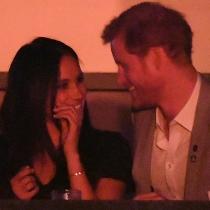 La sonrisa de enamorados de Meghan Markel y el príncipe Harry