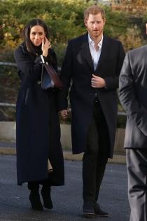 Meghan Markle y el príncipe Harry son la pareja de moda