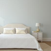 Feng Shui: pon un cabecero bien sólido detrás de la cama