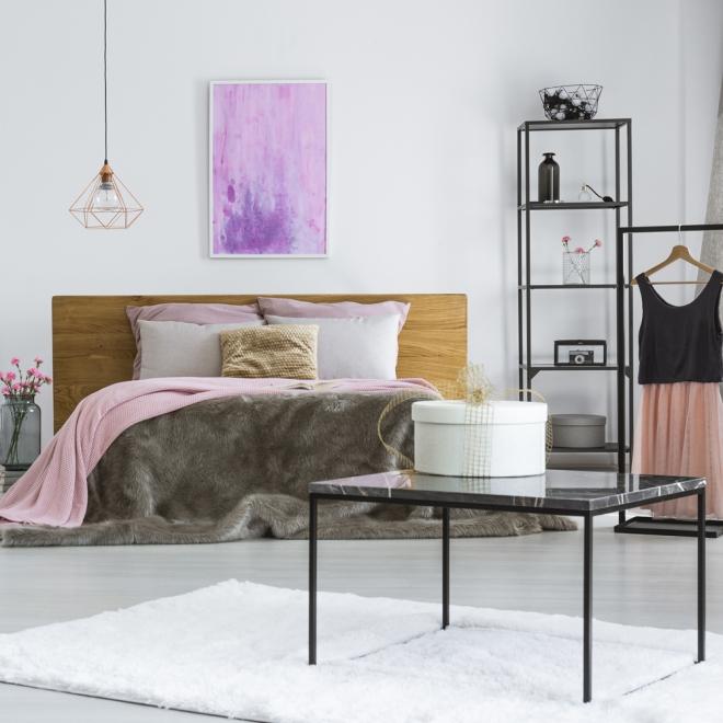 Feng Shui: coloca la cama pegada a la pared