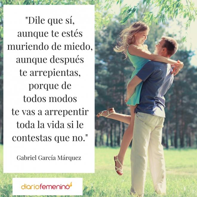 Frase De Amor De Gabriel García Márquez
