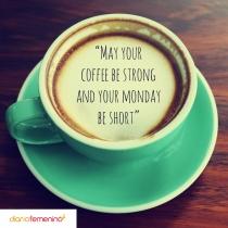 Frase para los amantes del café