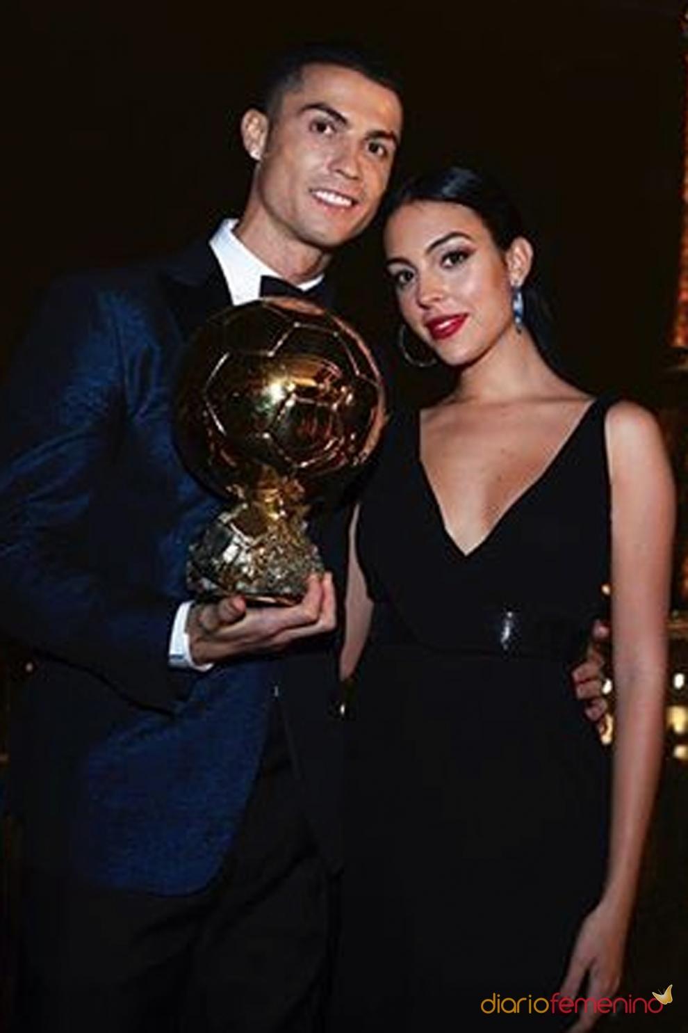 Georgina siempre apoya a Cristiano Ronaldo