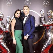 Cristiano y Georgina, ¡inseparables!
