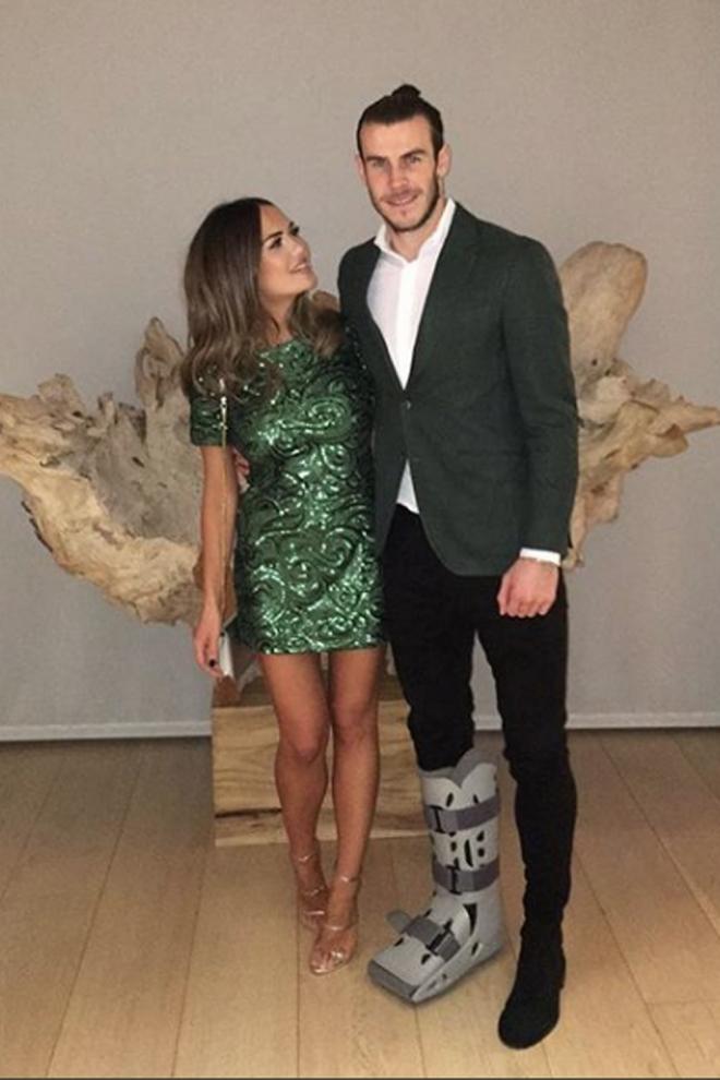Gareth Bale y Emma Rhys-Jones, este año sí hay boda