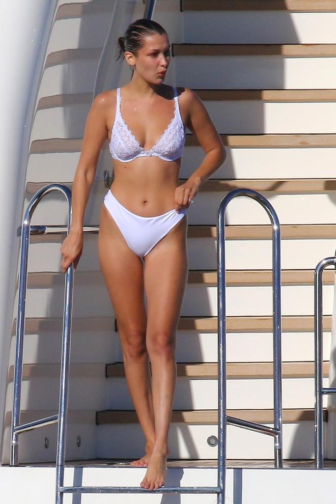 Gigi Hadid y su original bikini